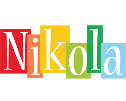 Nikola colors logo