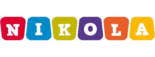 Nikola daycare logo