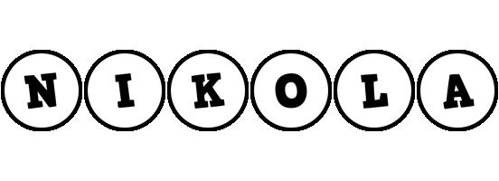 Nikola handy logo