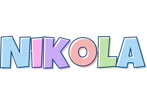 Nikola pastel logo
