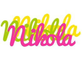 Nikola sweets logo