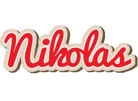 Nikolas chocolate logo