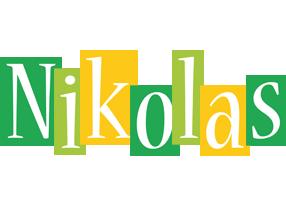 Nikolas lemonade logo