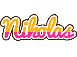 Nikolas smoothie logo