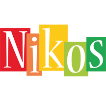 Nikos colors logo