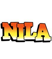 Nila sunset logo