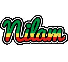 Nilam african logo