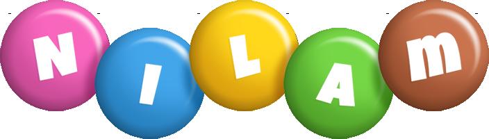 Nilam candy logo