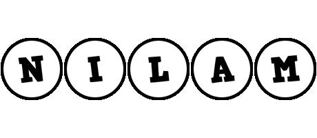 Nilam handy logo