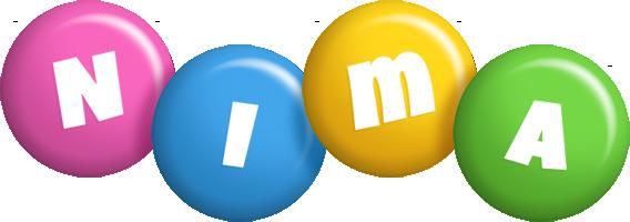 Nima candy logo