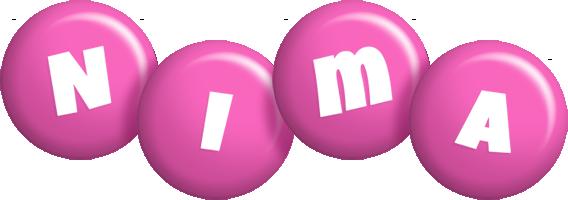 Nima candy-pink logo