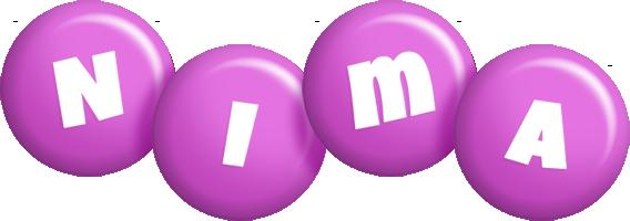 Nima candy-purple logo