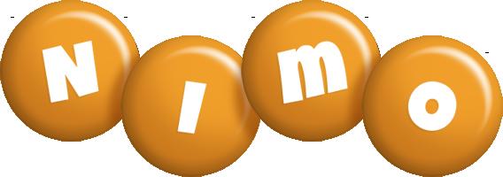Nimo candy-orange logo