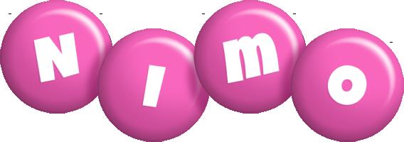 Nimo candy-pink logo