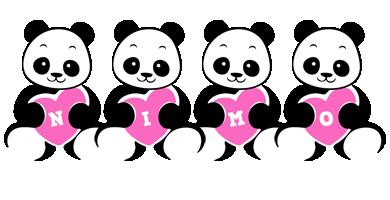 Nimo love-panda logo
