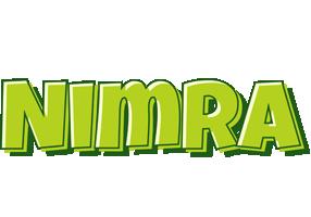 Nimra summer logo