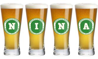 Nina lager logo