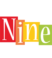 Nine colors logo