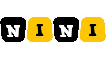 Nini boots logo