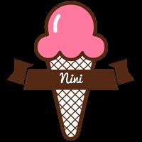 Nini premium logo