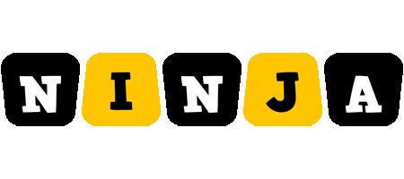 Ninja boots logo