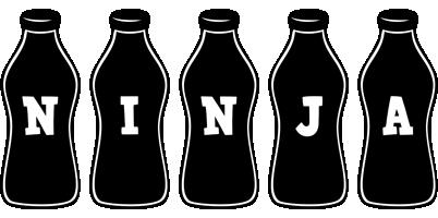 Ninja bottle logo
