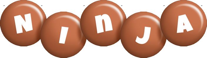 Ninja candy-brown logo