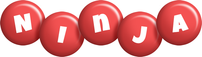 Ninja candy-red logo