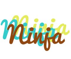 Ninja cupcake logo