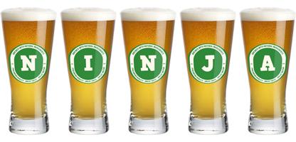 Ninja lager logo