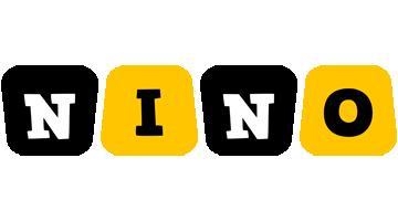 Nino boots logo