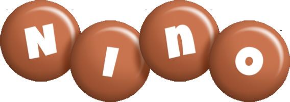 Nino candy-brown logo