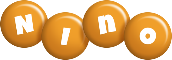 Nino candy-orange logo