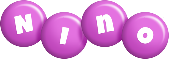 Nino candy-purple logo