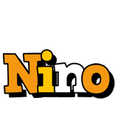 Nino cartoon logo