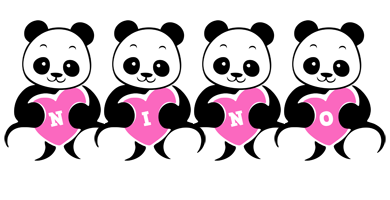 Nino love-panda logo