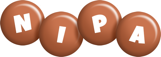 Nipa candy-brown logo