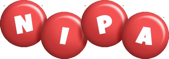 Nipa candy-red logo