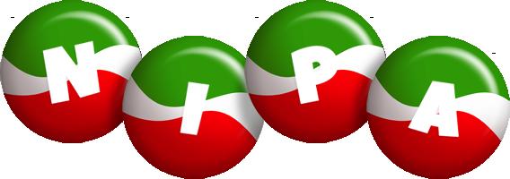 Nipa italy logo