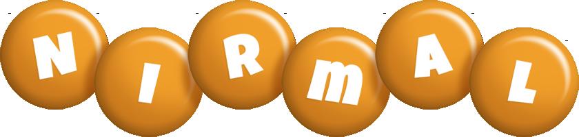 Nirmal candy-orange logo