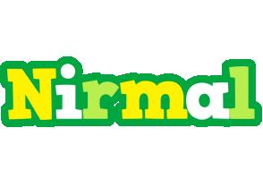 Nirmal soccer logo