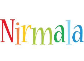 Nirmala birthday logo