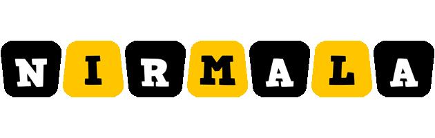 Nirmala boots logo