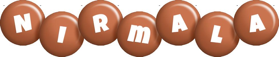 Nirmala candy-brown logo