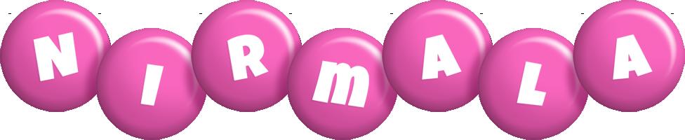 Nirmala candy-pink logo