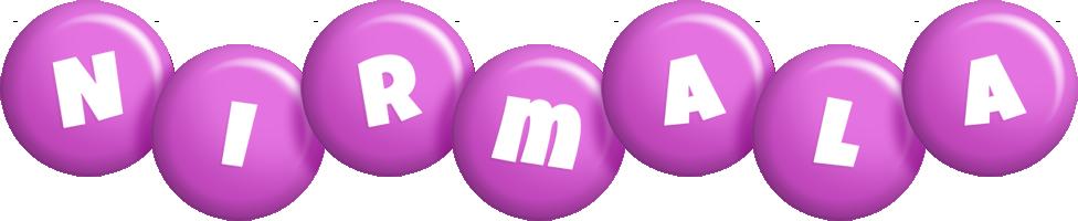 Nirmala candy-purple logo