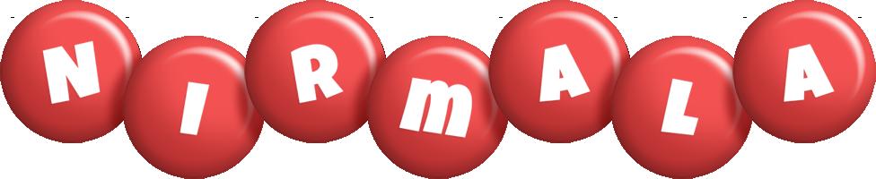 Nirmala candy-red logo