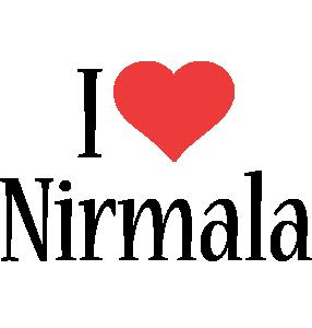 Nirmala i-love logo
