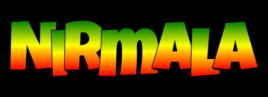Nirmala mango logo