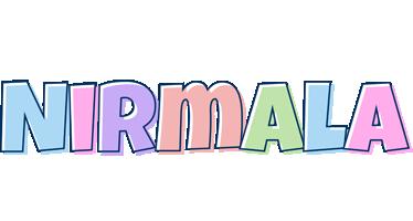 Nirmala pastel logo